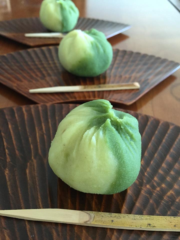 """Yaki-imo"" baked Japanese sweet potato with sweet bean paste"