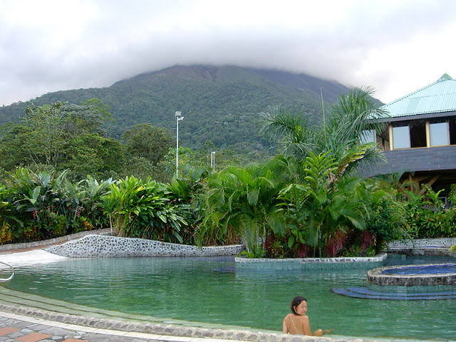 Baldi Hot Springs  in  Arenal , Costa Rica