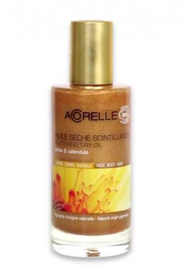 Acorelle Organic Glittering Dry Oil