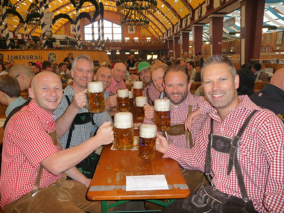 Oktoberfest in Munich, Germany. (All photos via  Lars .)