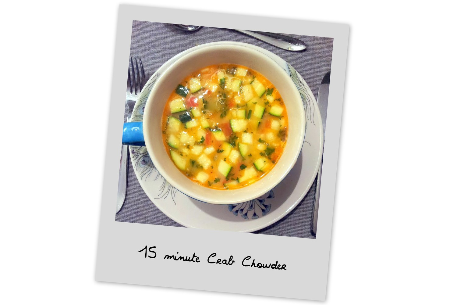 15 Min. Crab Chowder   in:  It's a Snap!