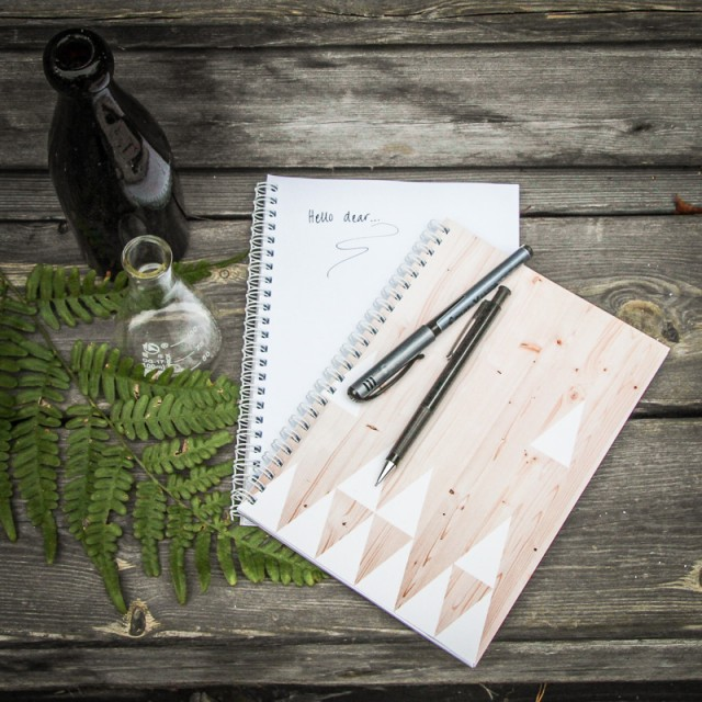 Triangle & Wood Notebooks
