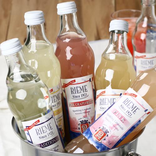 Fizzy waters + freshing drinks