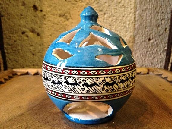 handmade turkish candle holder