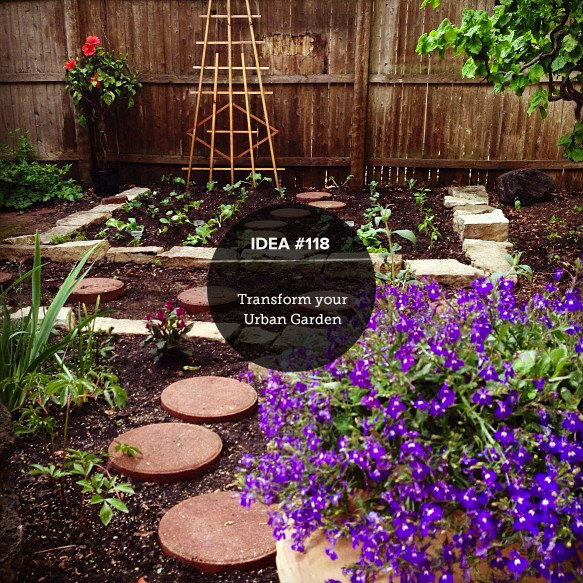 IDEA118: Transform Your Urban Garden