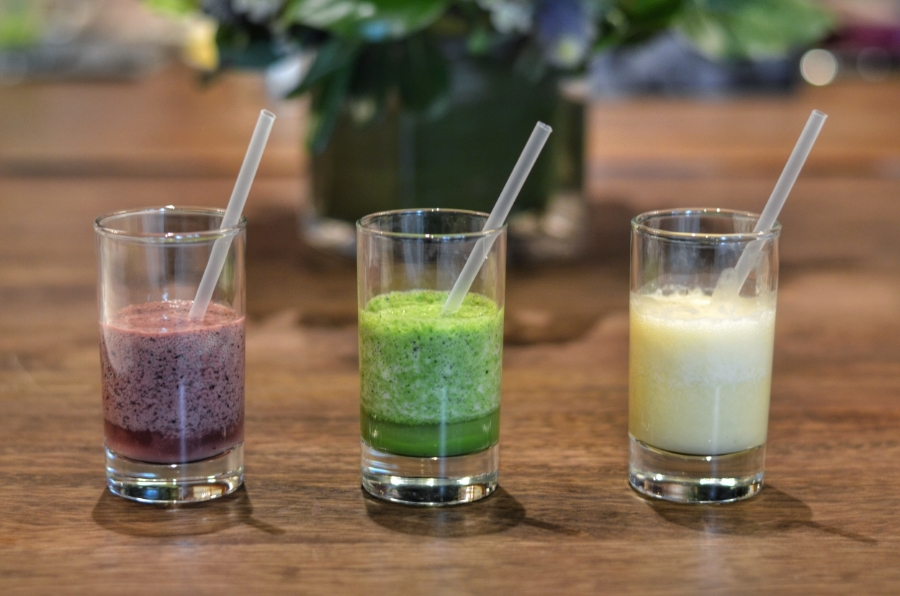 Be Healthful Retreat & Four Seasons Chicago - Natural Recipes for Island smoothies