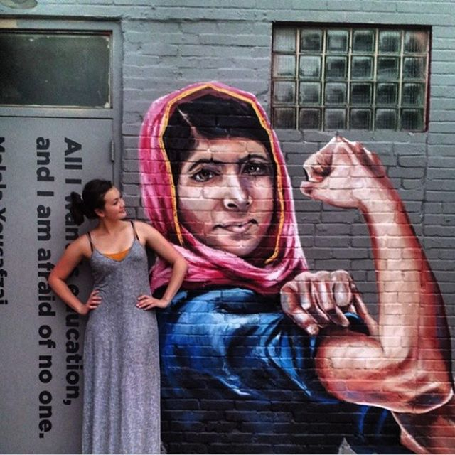 This photo is from my hometown of Houston, Texas, by muralist  @anatronen1971