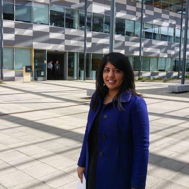 Deepa at the Hauser Forum