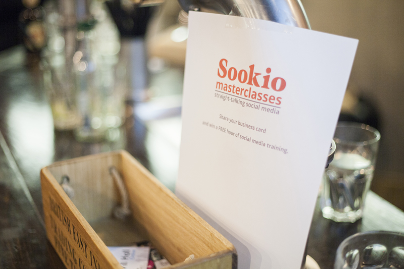 Sookio Masterclasses: straight-talking social media