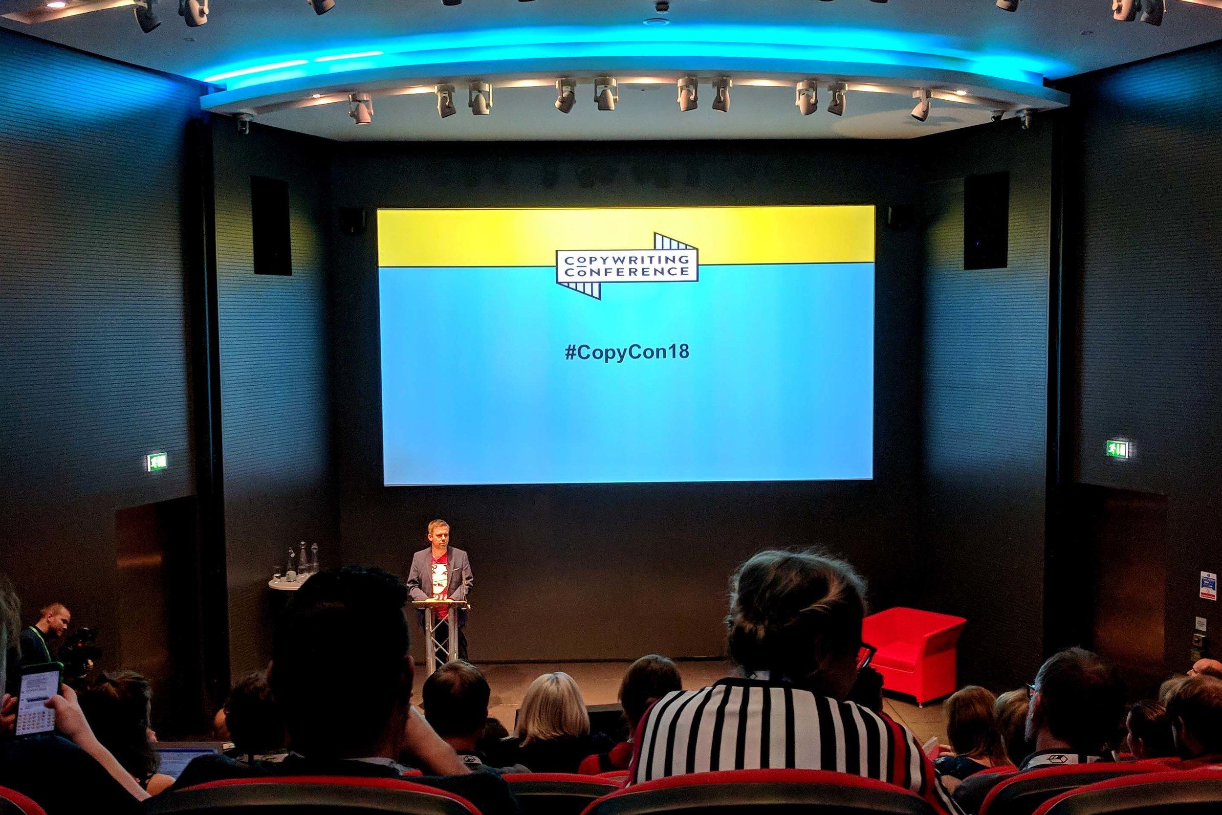 CopyCon 2018 conference