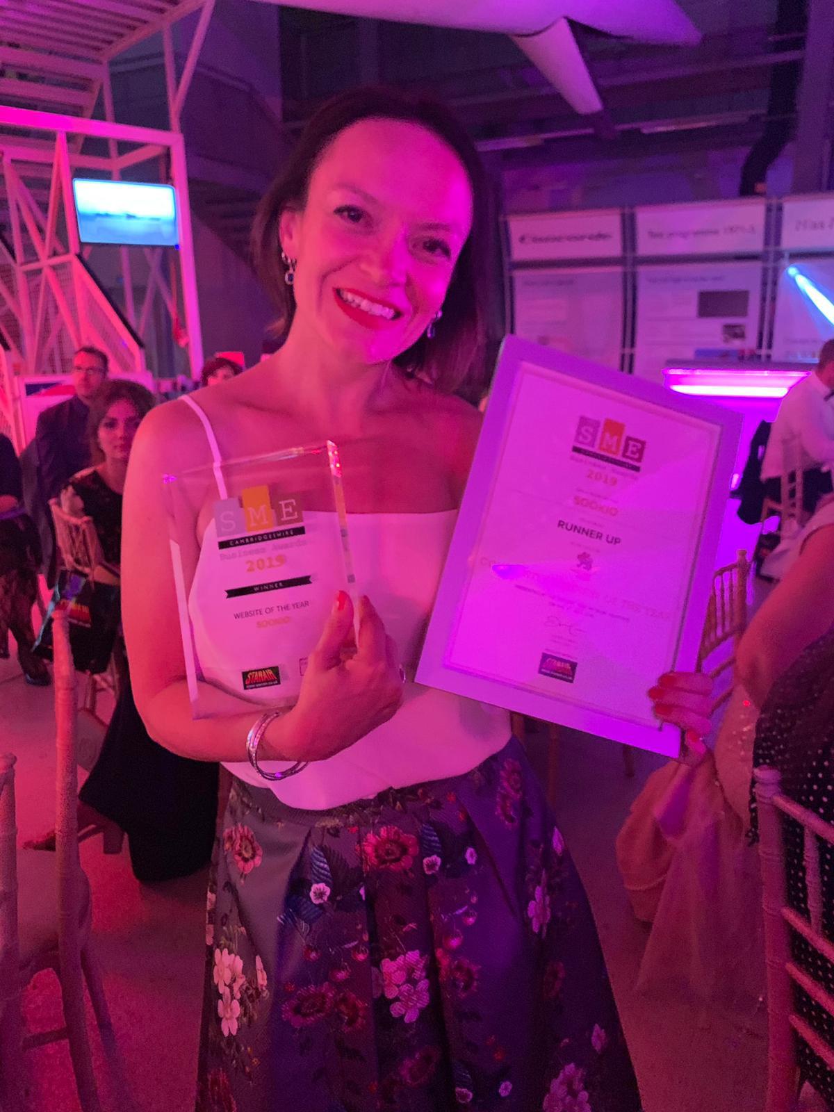 Sue Keogh SME Awards