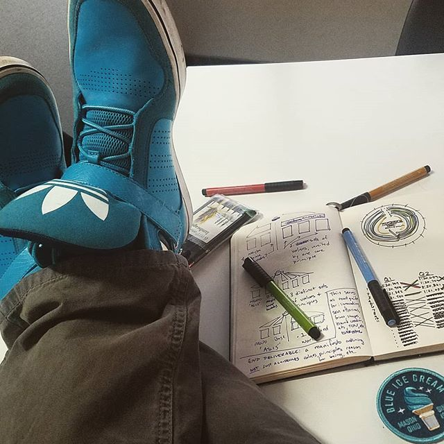 It is a Blue Shoe Friday for us as we iterate on our latest projects. How about you?