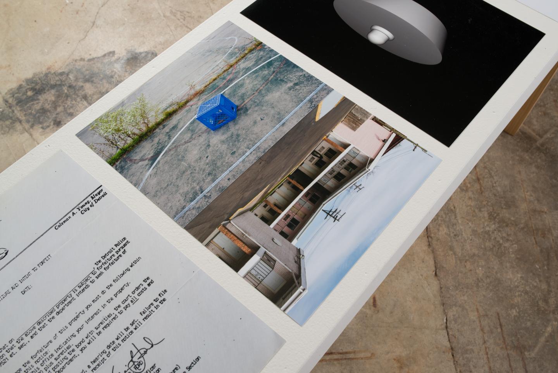 Bathtub Plug Development System II  5 Digital C Prints, 13x10in, 2016