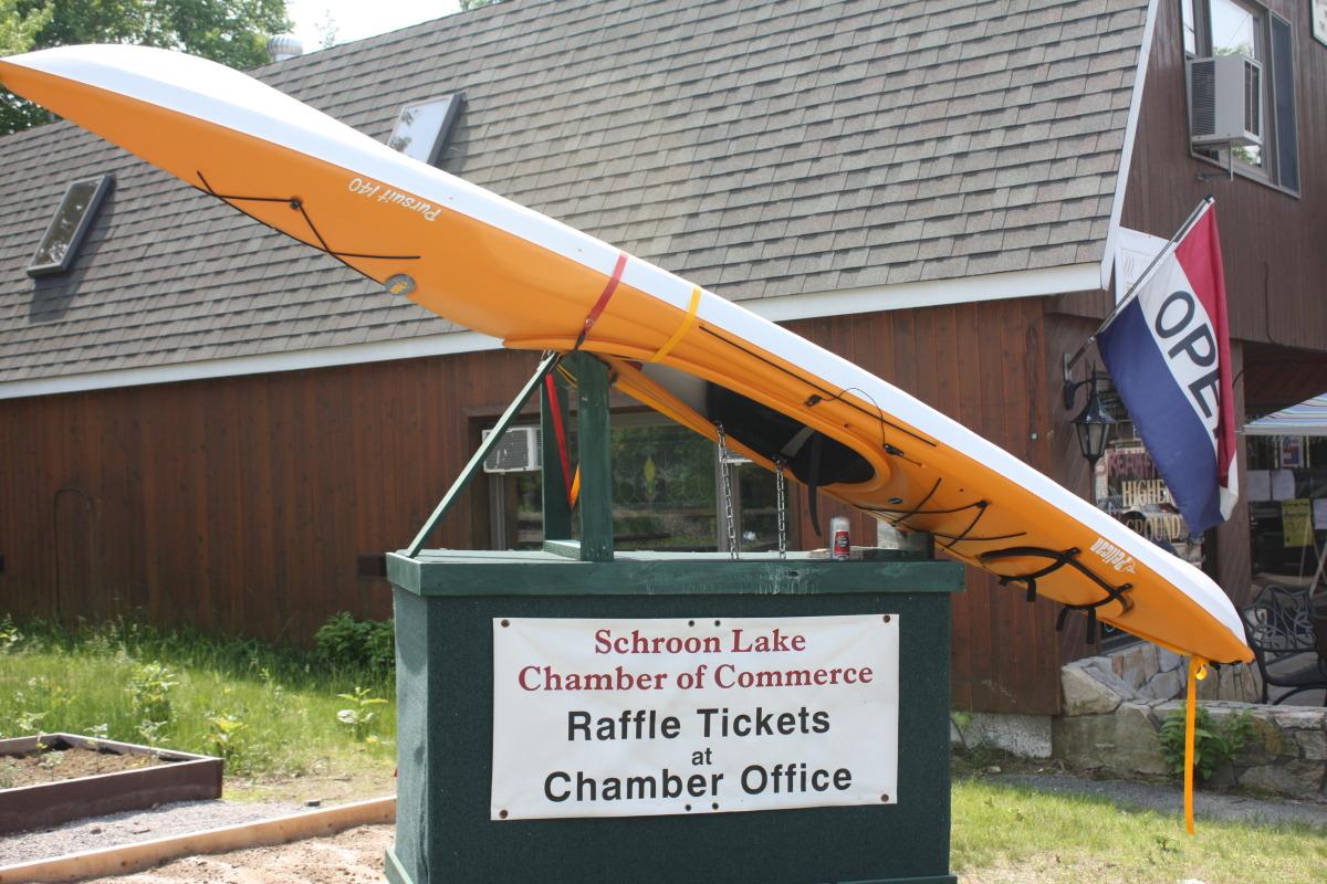 Schroon Lake Chamber 2012 Kayak Auction