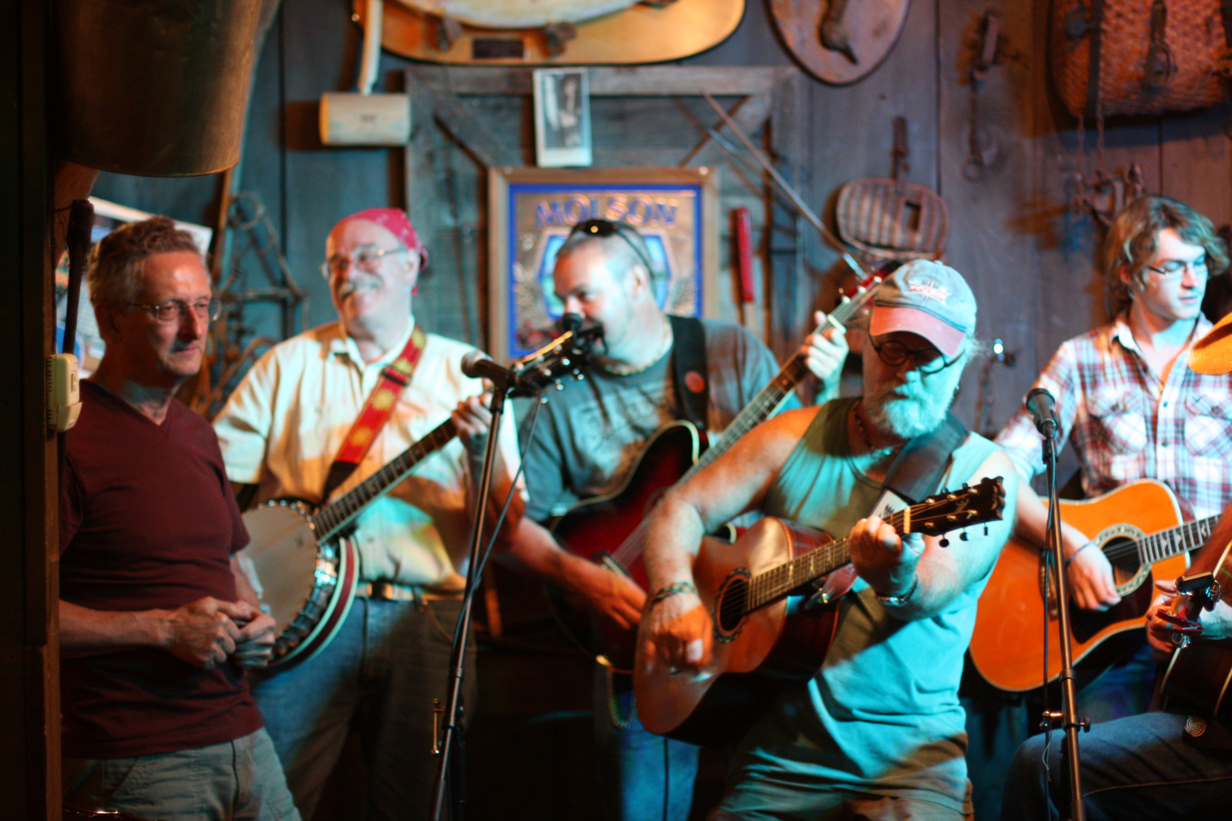 Thursday: Open Mic Night at Witherbees Carriage House. Sign up at 6:30 pm with Mark Piper. Free!