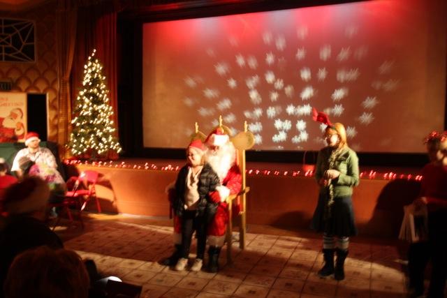 Santa at The Strand