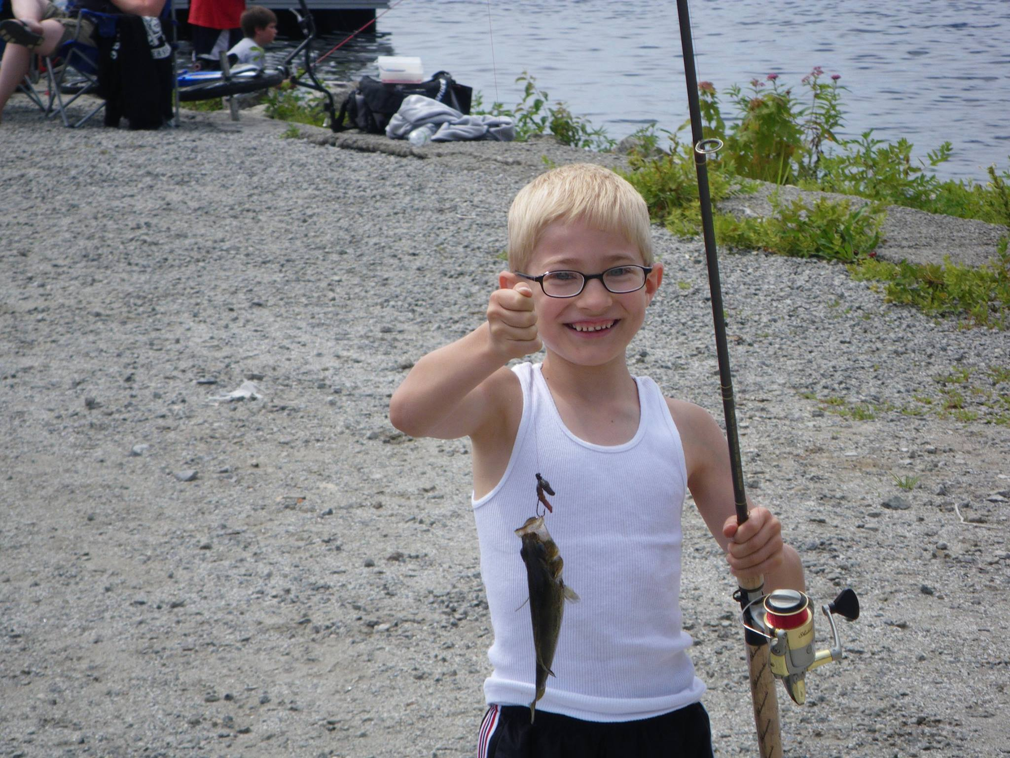 The Schroon Lake Kids Fishing Derby.