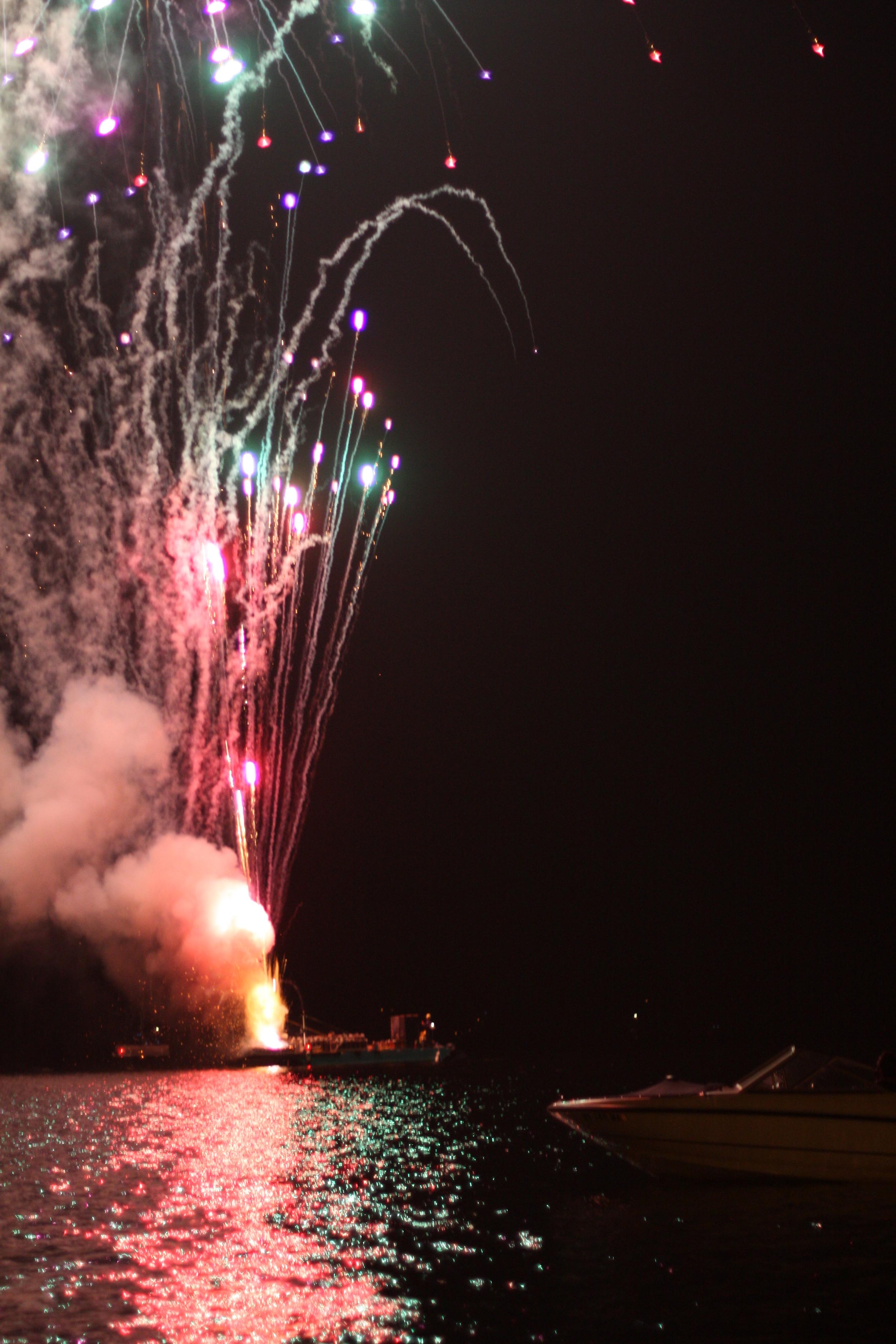 2013 Schroon Labor Day Fireworks