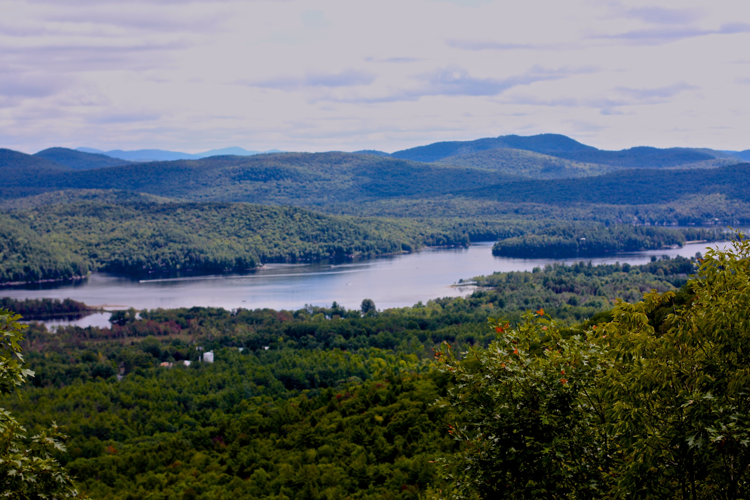 Schroon Lake viewed from Mt. Severance. Schroon Laker Collection. 2014. Copyright. All Rights Reserved