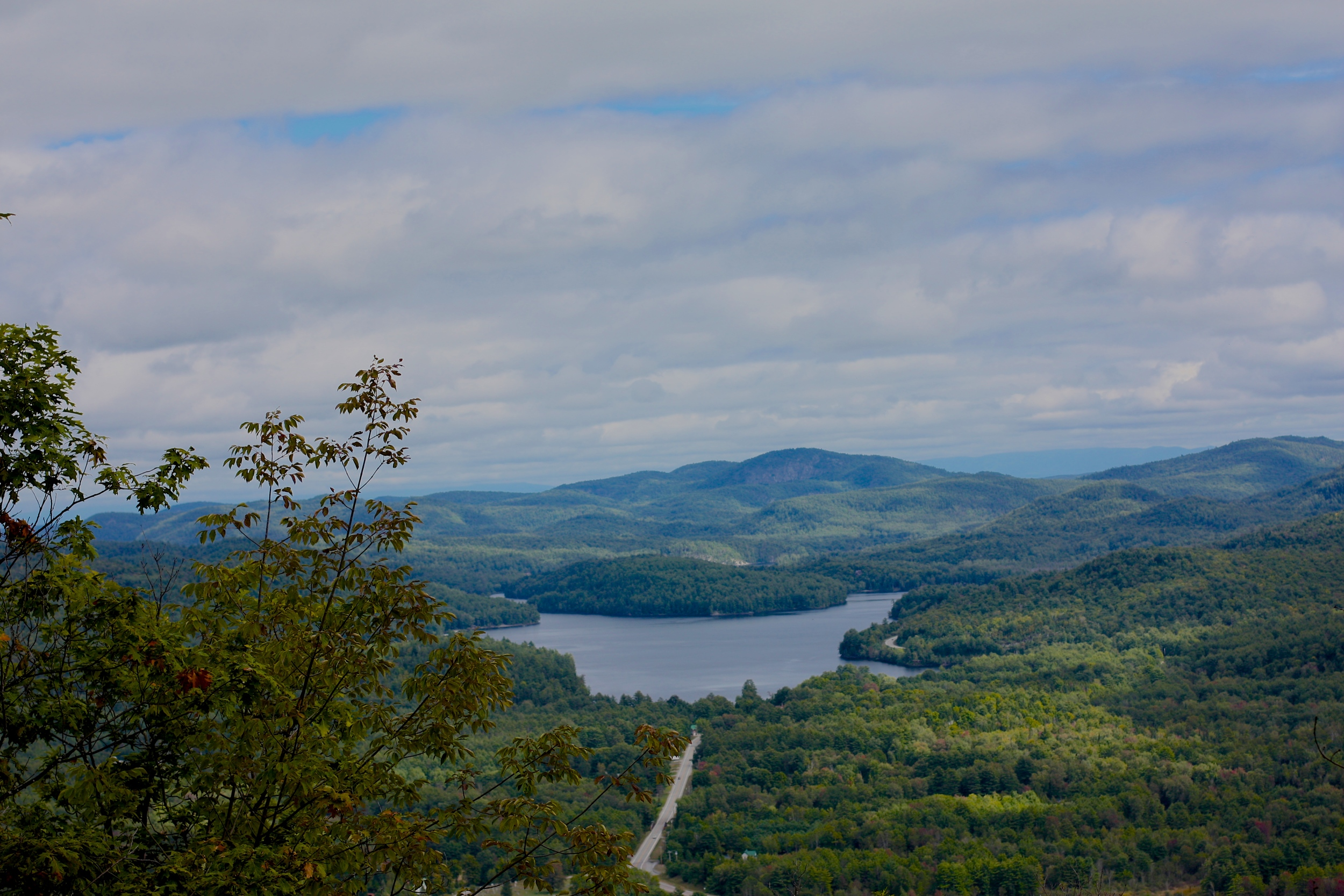 Paradox Lake viewed from Mt. Severance. Schroon Laker Collection. 2014. Copyright. All Rights Reserved