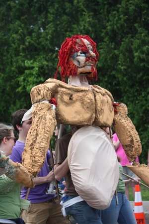 One of the amazing creations from the ADK Shakes featured during the 2015 Schroon Lake July 4th Parade.