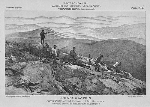 Verplanck Colvin - Adirondack Survey of Hurricane Mountain