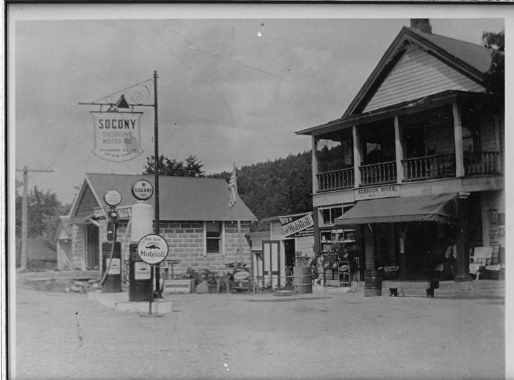 Undated photo from North Hudson. Courtesy Schroon Lake - North Hudson Historical Society