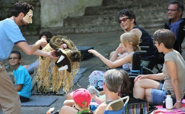 Schroon's own ADK Shakespeare Company in 2015 added a new element to their children's programming: Arts & Crafts activities for their young audience members.