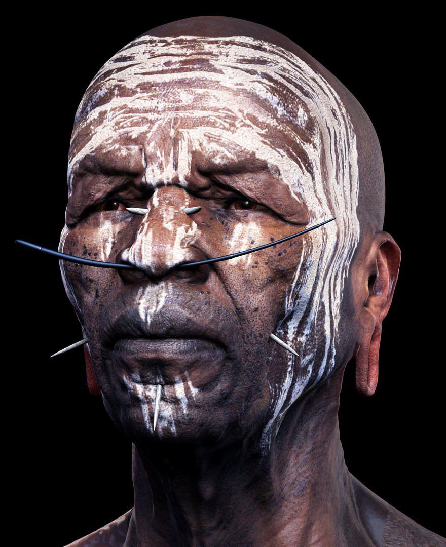 Mursi tribesman / Adam Skutt