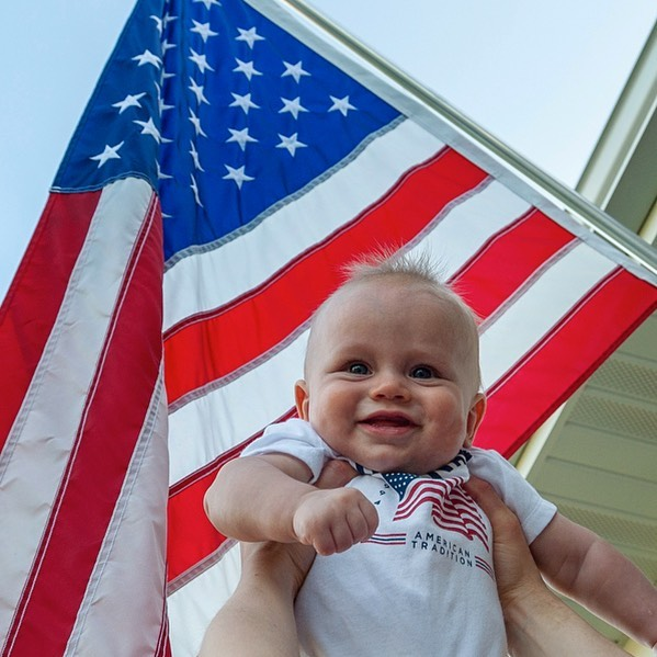 Happy 4th! #baby #4thofjuly #celebration