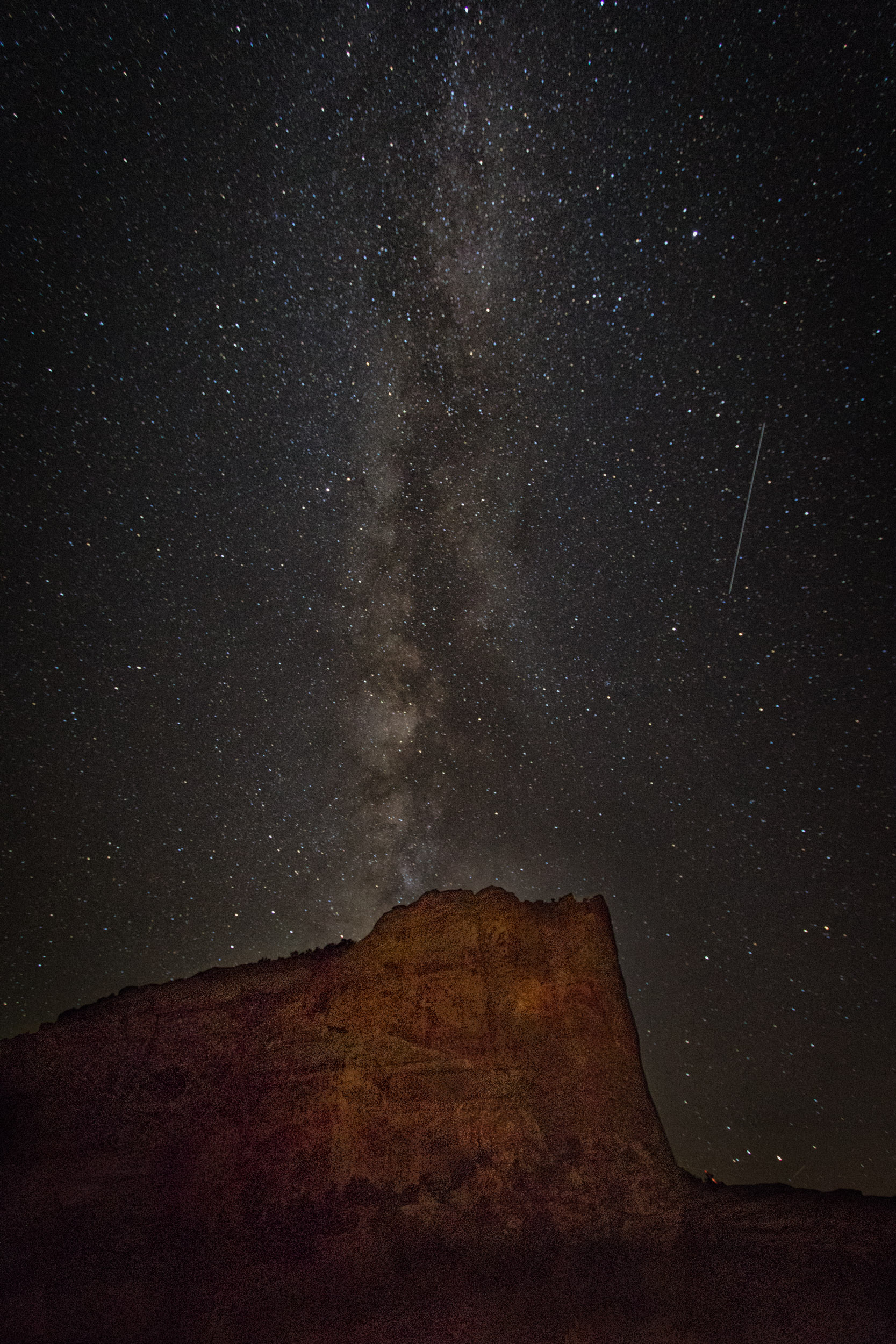 Cliff, Milkey Way and meteorite.jpg