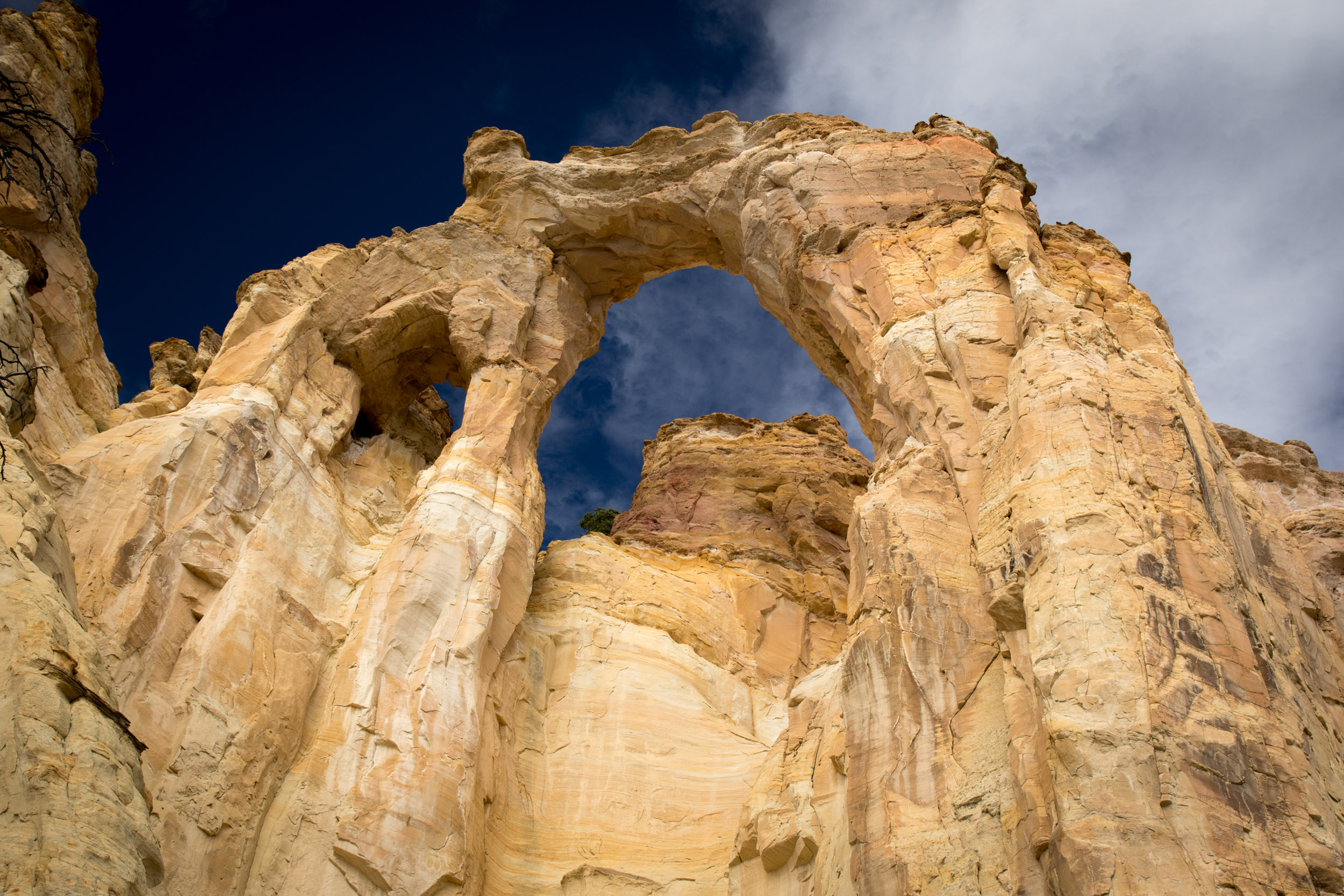 Grosvenor Arch and the impossibly blue sky.jpg