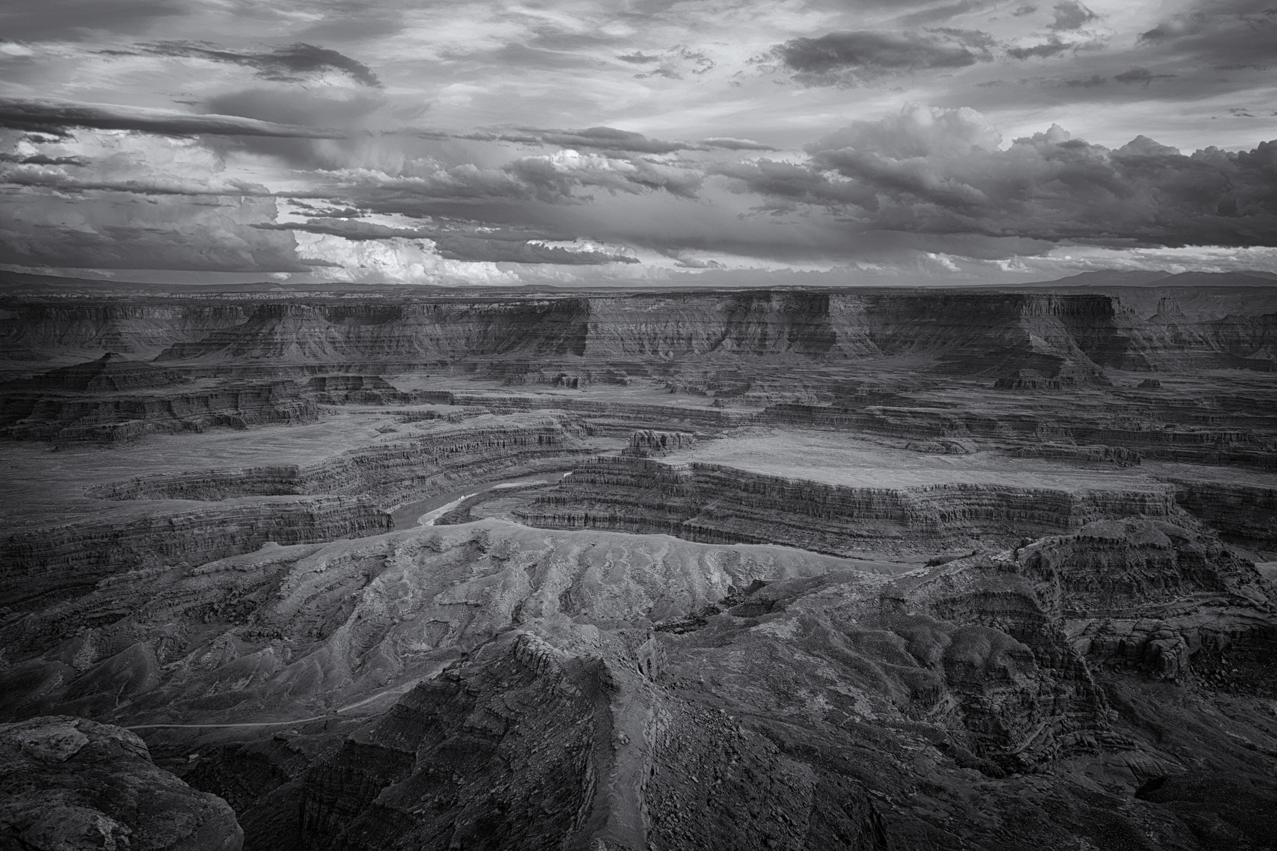 Clearing Storm over the Colorado River outside Moab, Utah.