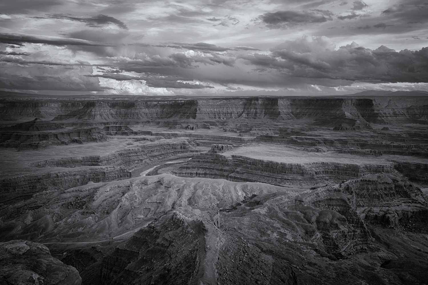 Clearing Storm Over the Colorado  Majestic clouds, the texture of the sandstone walls, yes Ansel Adams influenced me as he has millions of other photographers. I still love his work, and I love this classic view of southern Utah.