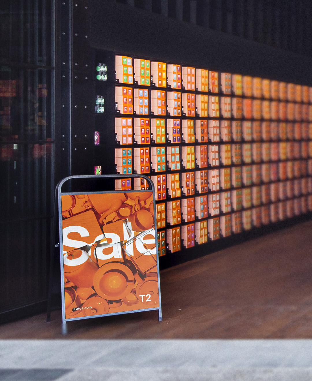 The resulting images were used in digital promotions, printed media and environmental signage across more than eighty stores. -