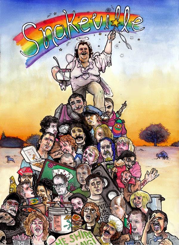 SNAKEVILLE cover