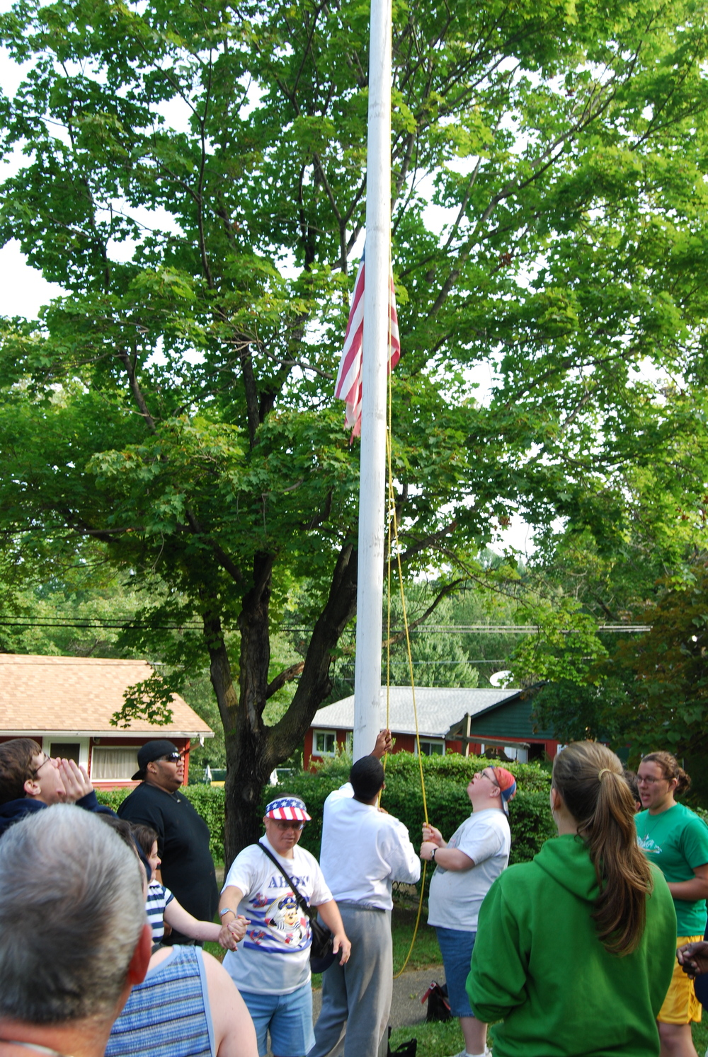 Copy of Flag Raising
