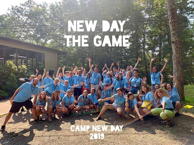 Here we go #2019! Are you ready to play?! . . #newdaythegame #game #boardgames #candyland #monopoly #clue #murdermystery #fun #camp #campnewday #newday #cnd #cnd2019 #friends #volunteer #nonprofit #helpothers #campeveryday #service #serveothers