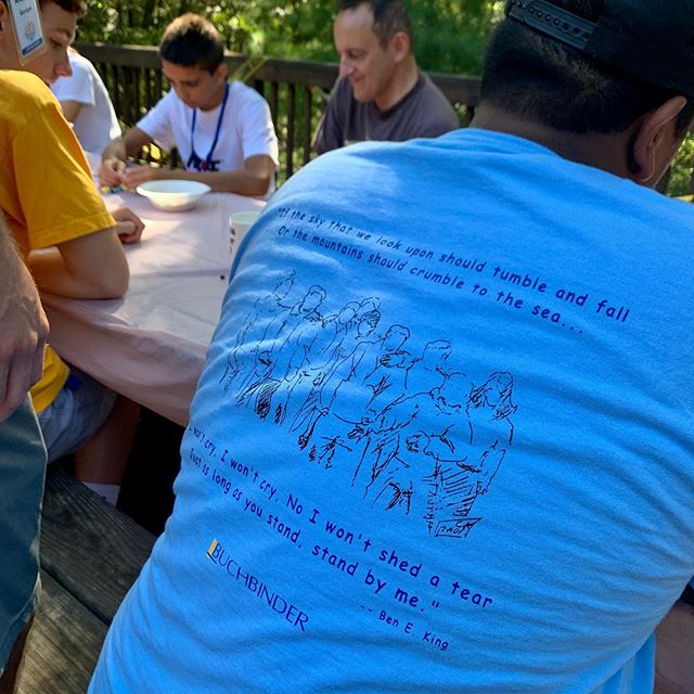 🙌🏻 MANY THANKS to Buchbinder Certified Public Accountants (buchbinder.com) for their DONATION, every volunteer and camp attendee received a t-shirt! 👕 so much love! . . #tshirt #donation #tshirtdonation #buchbinder #accounting #accountant #give #specialneeds #volunteer #camp #newday #newdaythegame #summercamp
