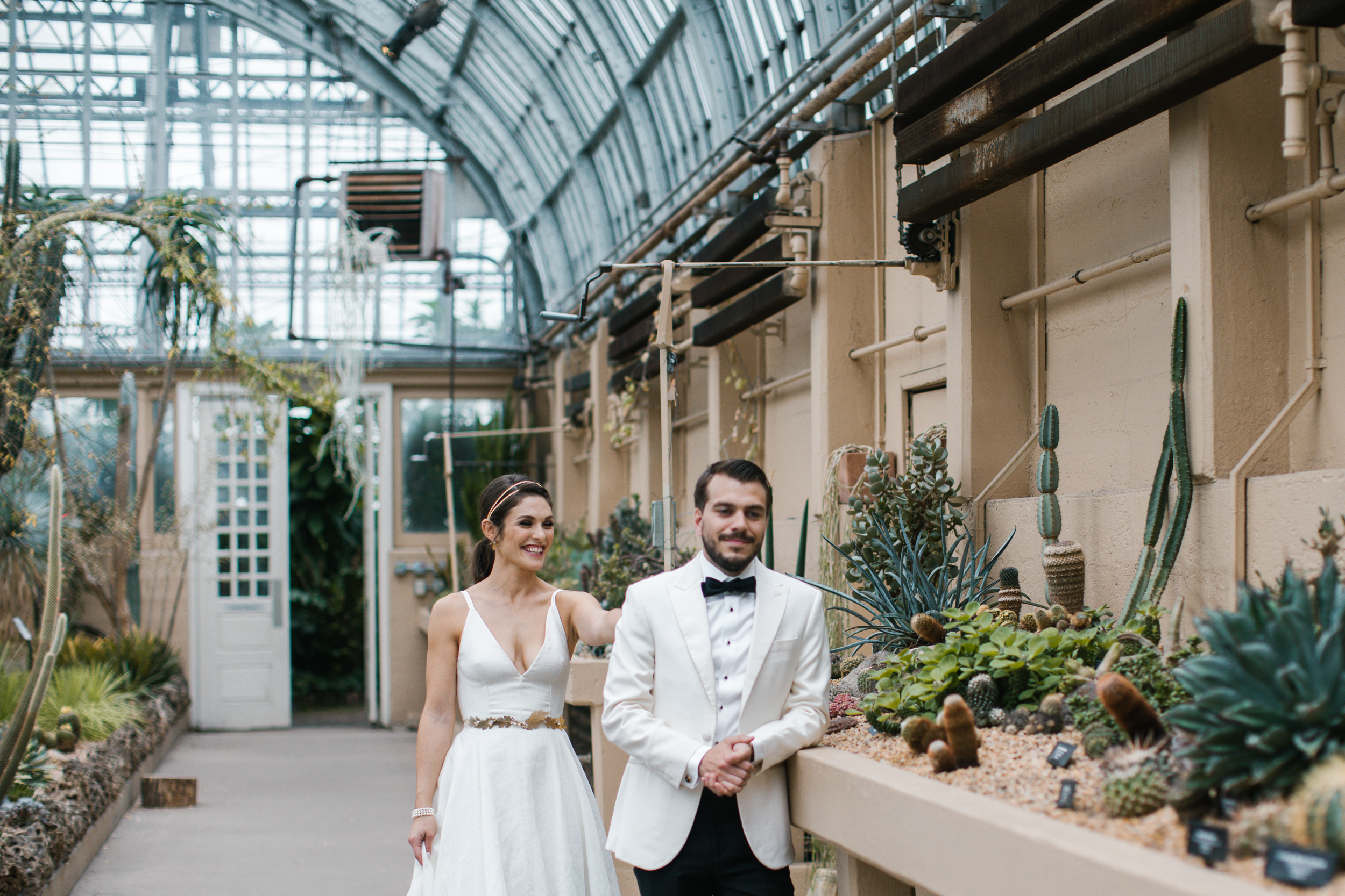 Garfield Park Conservatory Wedding.Garfield Park Conservatory Wedding Anna Zajac Wedding