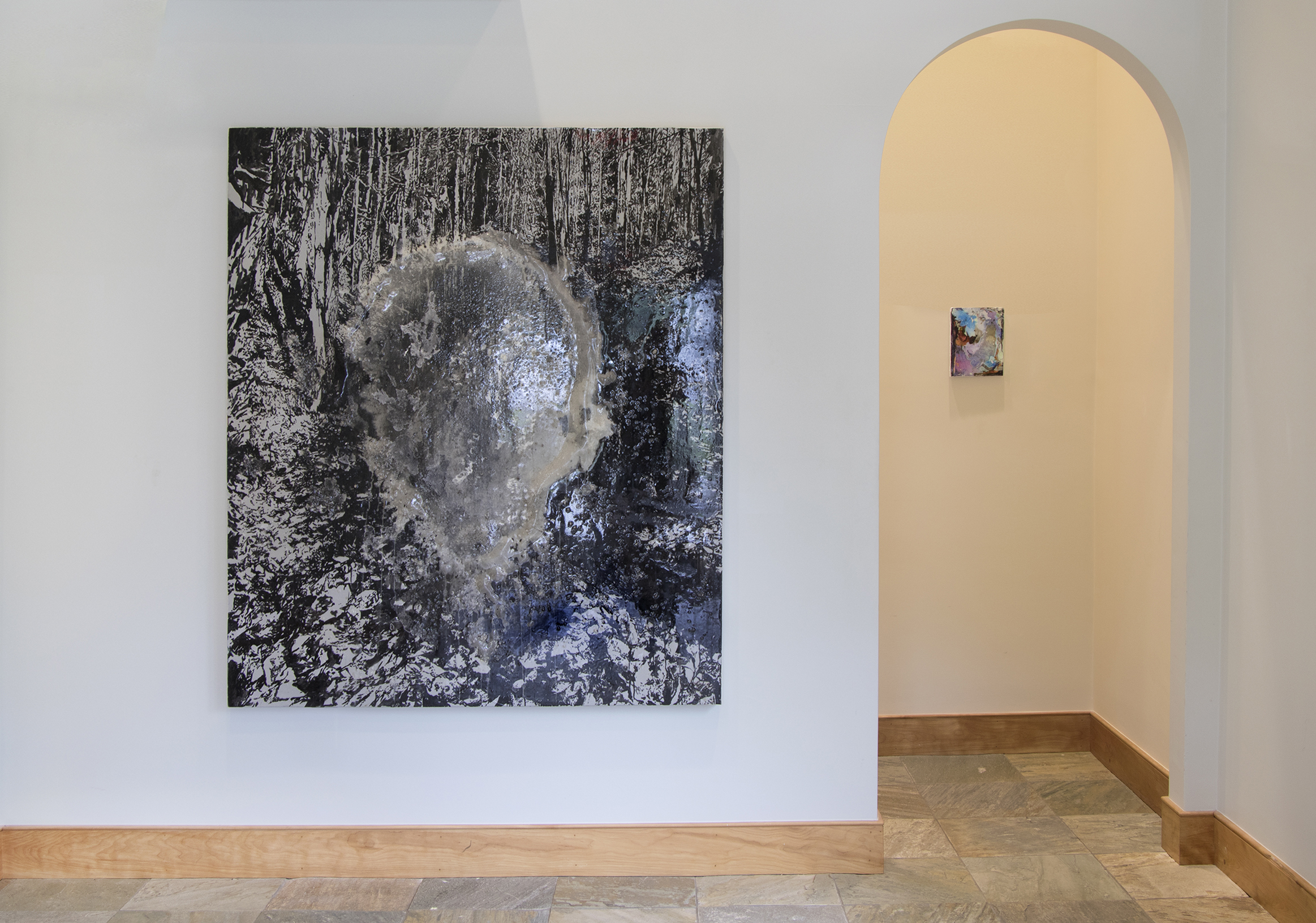 Installation view at Wellfleet Preservation Hall, 2017. Curated by Susie Nielsen.