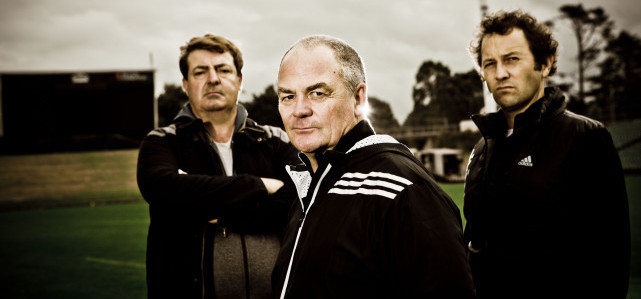 The Three Musketeers, Steve Hansen, Graham Henry and Wayne Smith. Nah, jk, these are just actors.