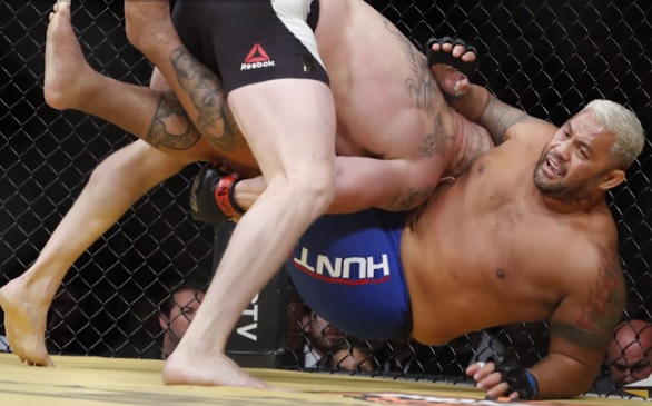 Remind me to never fight Brock Lesnar.