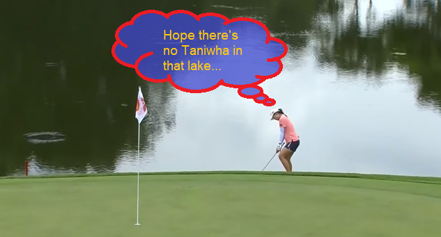 Taniwha whisperer.