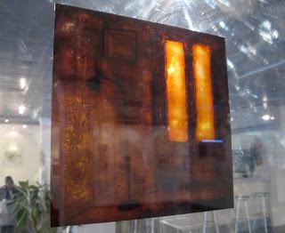 La Colegiata, Madrid , lacquer on transparent film, 30x30cm