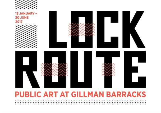 13 JAN 2017 - 30 JUN 2017  OPEN 24 HOURS  FEE: FREE  LOCK ROUTE  Official launch during Art After Dark 13 January 7PM  Various locations around Gillman Barracks  Open 24 hours to the public   Gillman Barracks' public art showcase,  LOCK ROUTE , o  pens officially during Art After Dark on Friday 13 January 2017. Curated by Khairuddin Hori,  LOCK ROUTE  takes inspiration from Gillman Barracks' address and the 24km long route march common in the training of 'graduating' army recruits in Singapore, harking back to Gillman Barracks' history of being a former military barracks.     LOC    K ROUTE    features 16 arresting outdoor artworks by 15 world-renowned and emerging international and Singapore artists, including several new commissions.   The artworks consist of site-specific installations, sculptures and murals, and visitors are invited to traverse the grounds of Gillman Barracks and experience a closer encounter with art out in the open.