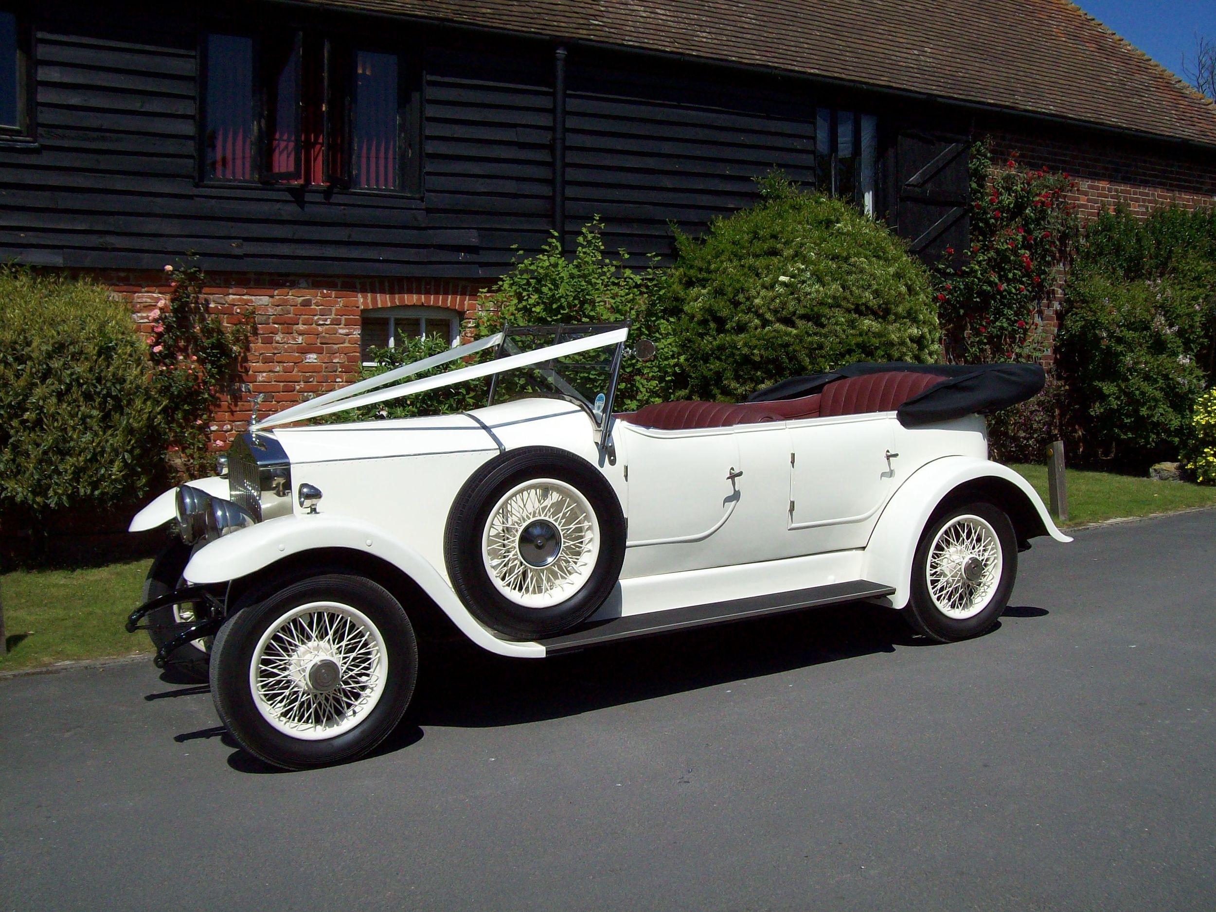 Vintage Rolls Royce Open Tourer