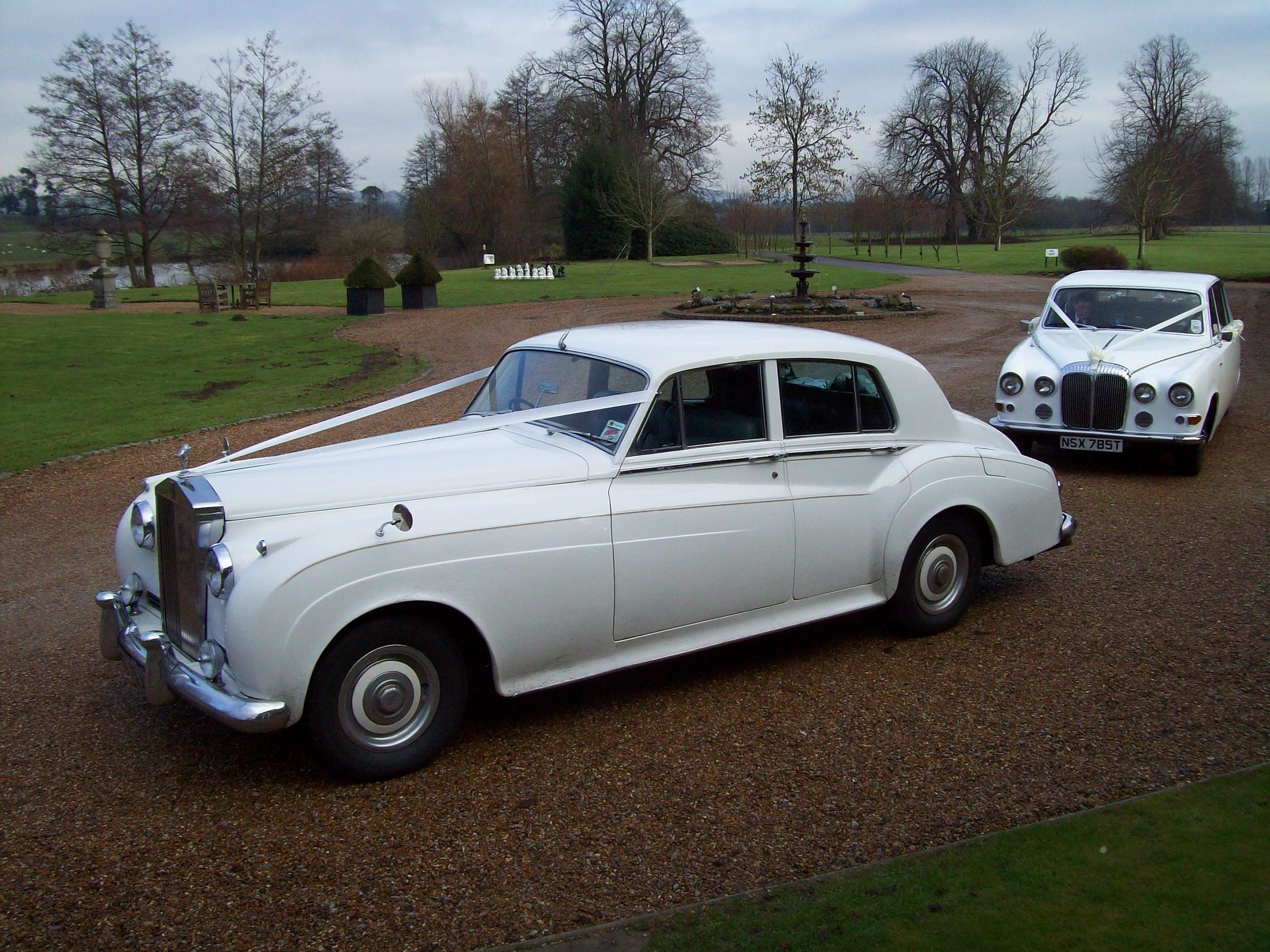 Wedding Cars At Chilston Park
