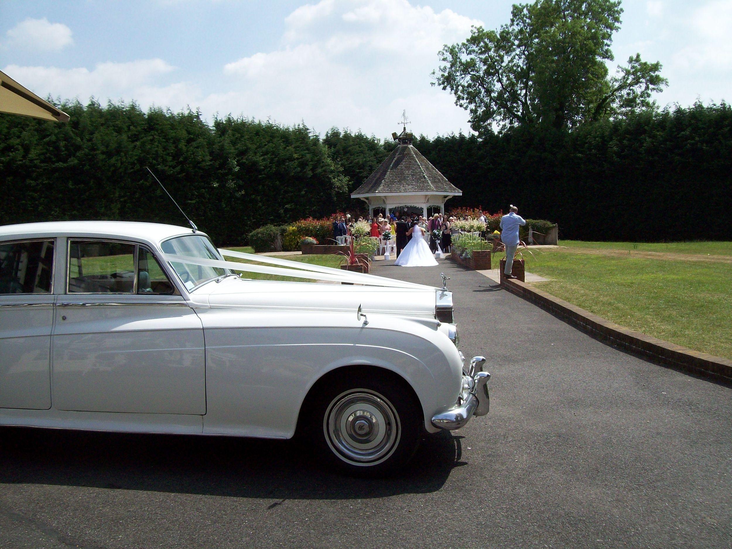 Kent wedding cars at Hop Farm, Paddock Wood.