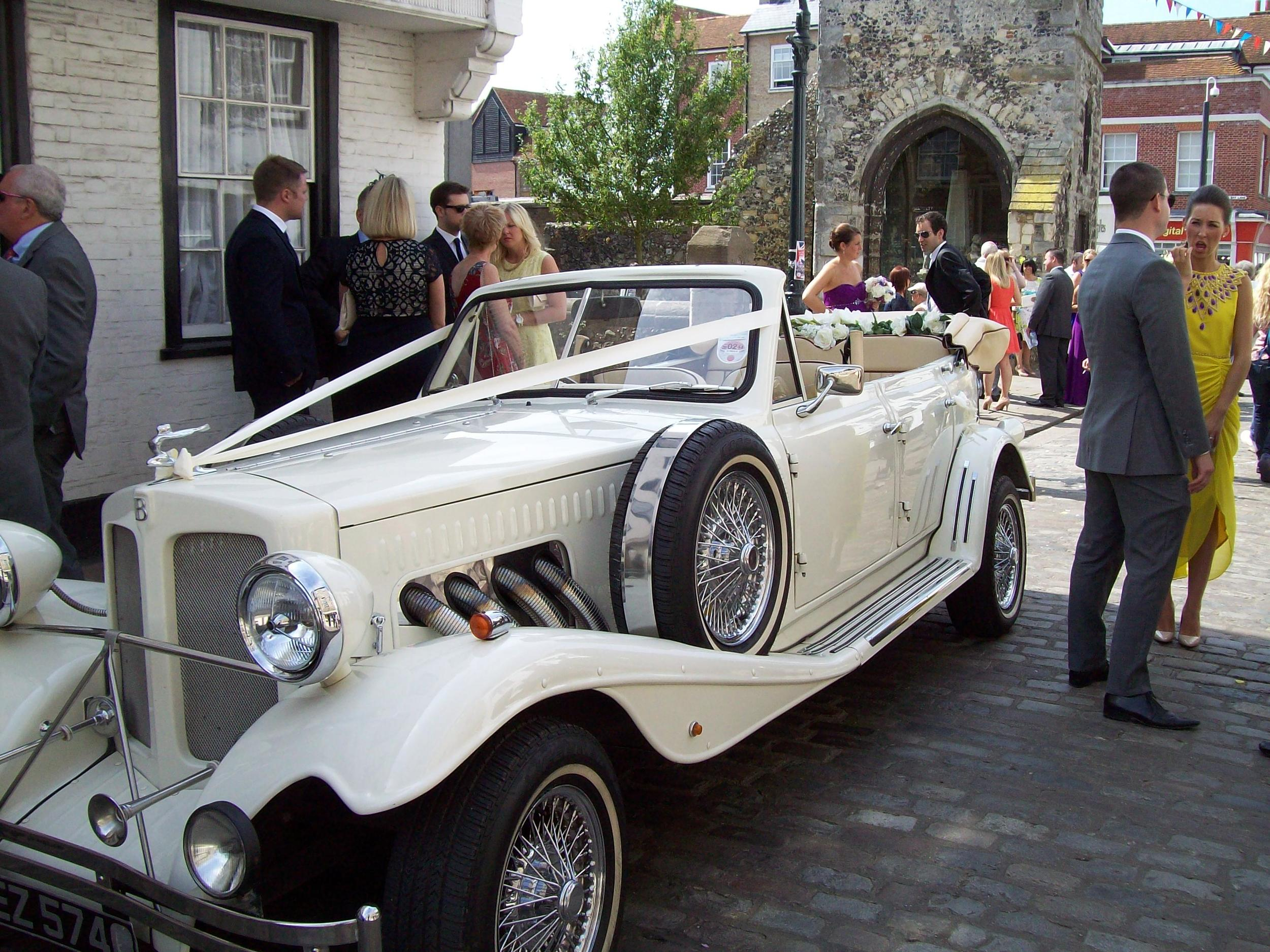 Wedding cars Kent